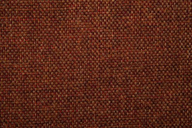 Textura de tecido vermelho e marrom de gobelin