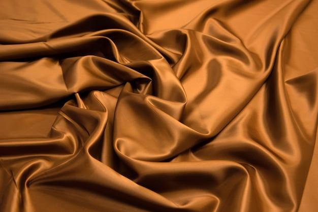 Textura de tecido viscose marrom.