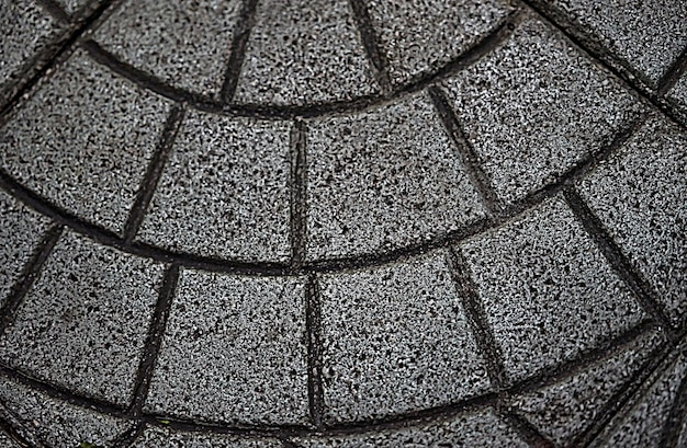 Textura de telha de caminho de pé de piso