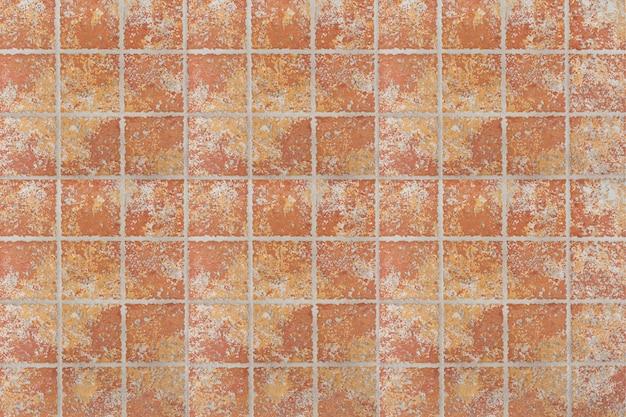 Textura de telha de pedra marrom