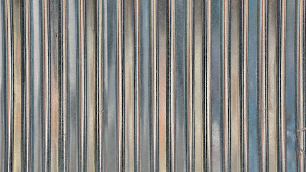 Textura de telhado de folha de metal. abstrato.