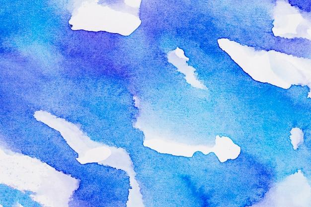 Textura de tinta de pincel azul