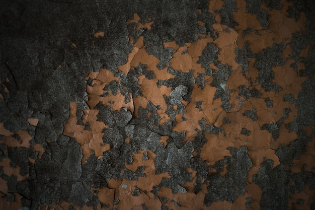 Textura de tinta velha descascando o concreto. fundo da parede.