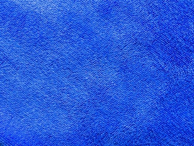 Textura de toalha azul