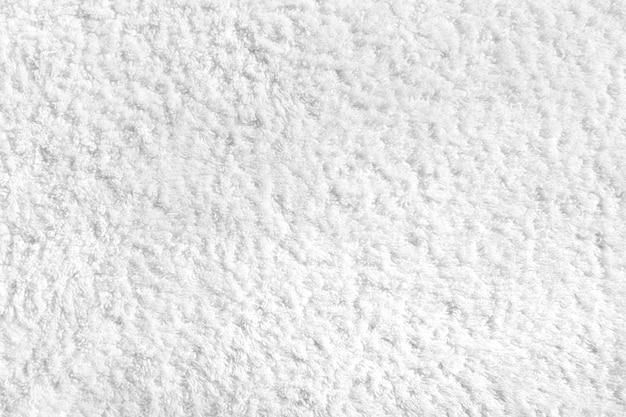 Textura de toalha de algodão branco ou fundo