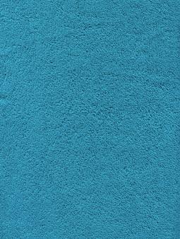 Textura de toalha de banho de algodão azul