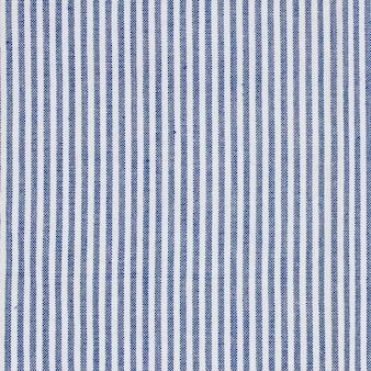Textura de toalha de mesa com listras azuis e brancas