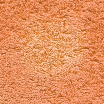 Textura de toalha laranja