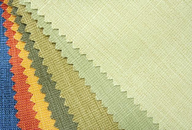 Textura de tom de cor da amostra de tecido