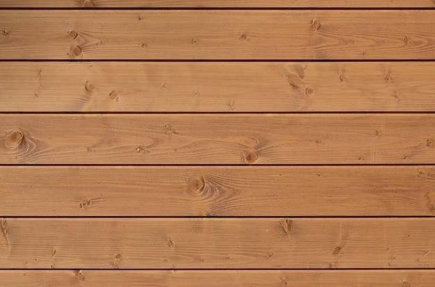 Textura de uma cerca velha de pranchas de madeira laranja horizontais