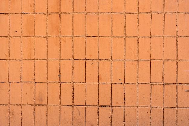 Textura de uma parede coberta de azulejos