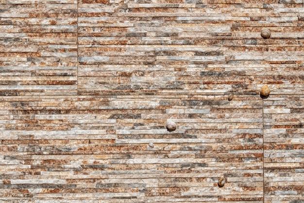 Textura de uma parede de pedra em.