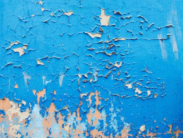Textura de várias camadas de tinta rachada para seu projeto
