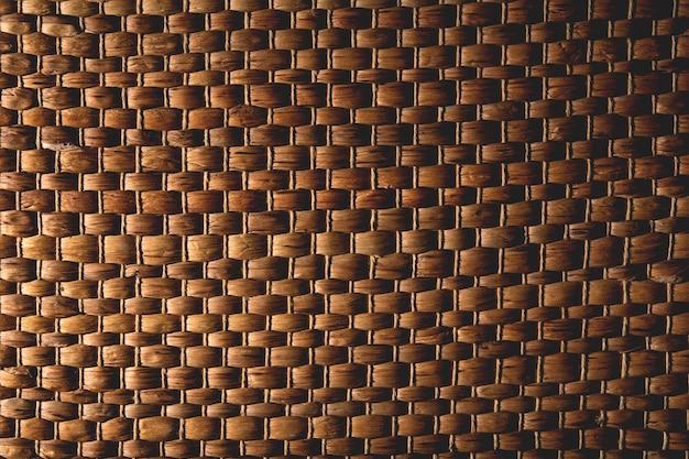Textura de vime close-up