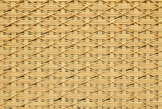 Textura de vime de cestaria.