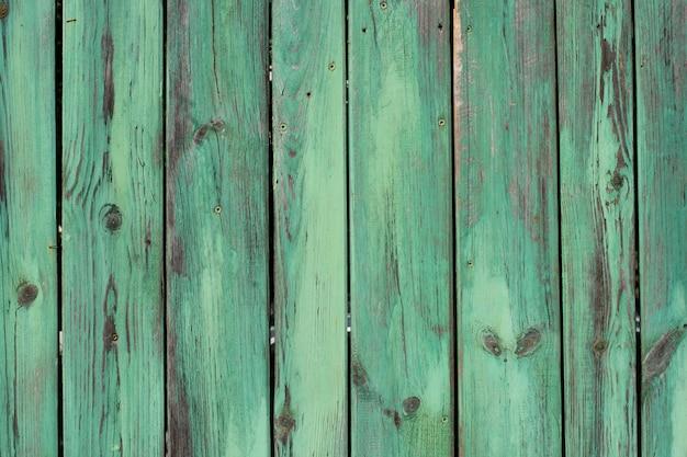 Textura de vintage azul e turquesa pintado de madeira
