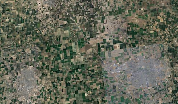 Textura de vista de satélite
