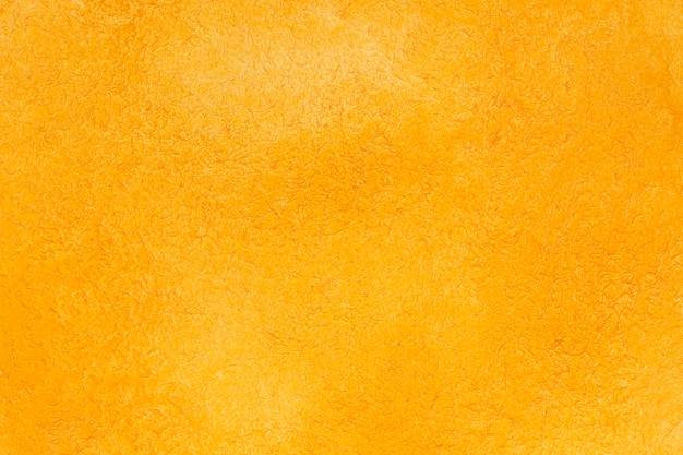 Textura decorativa acrílica laranja com espaço de cópia