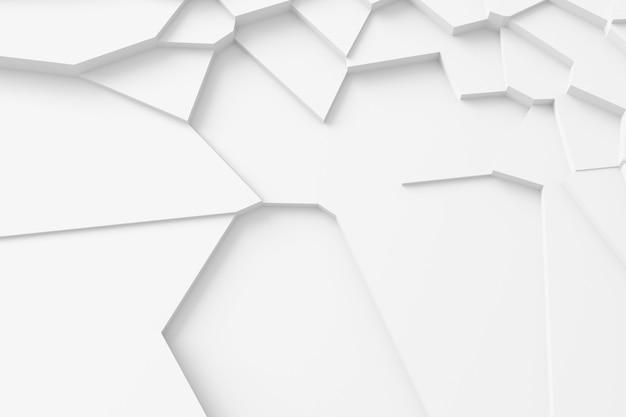 Textura digital leve de blocos de diferentes tamanhos e formas que se elevam uns sobre os outros, projetando sombras