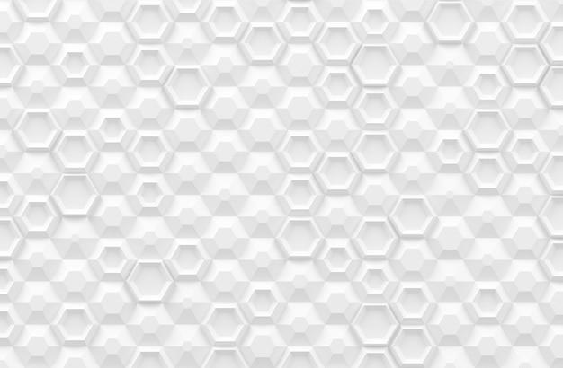 Textura digital paramétrica baseada em grade hexagonal com diferentes volumes e padrões internos