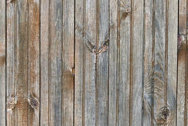 Textura do fundo do close-up de madeira desvanecido velho.