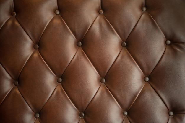 Textura do sofá de couro