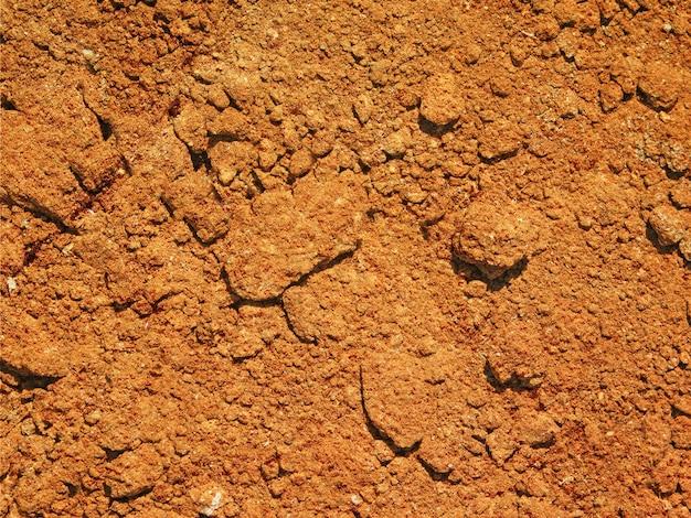 Textura do solo ao ar livre