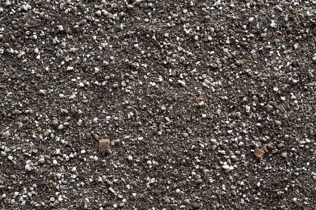 Textura do solo e opinião do fundo da natureza de cima de.