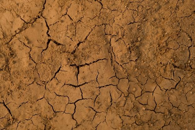 Textura do solo seco, parede de lama