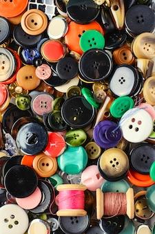 Textura dos botões