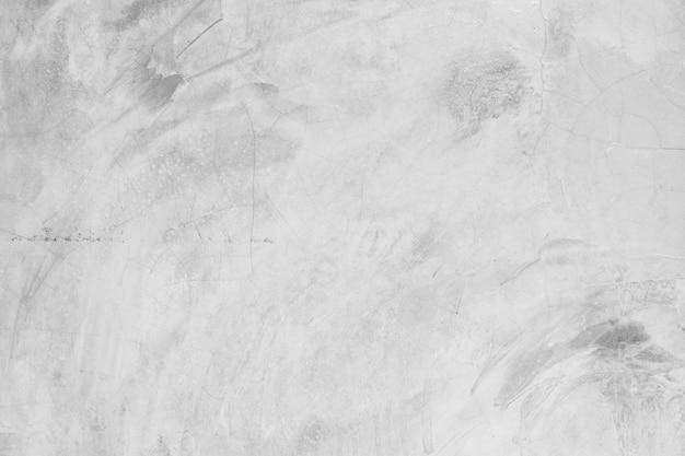 Textura e fundo branco vazio da parede de concreto
