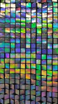 Textura e fundo coloridos festivos do espelho do arco-íris.