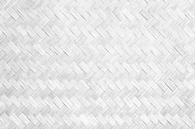 Textura e fundo de bambu brancos.