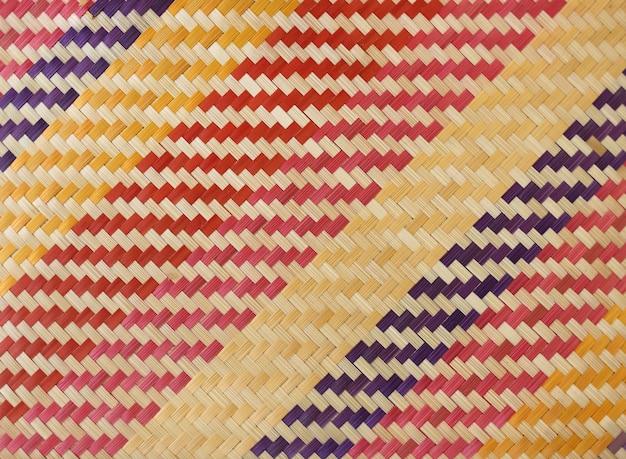 Textura e fundo de bambu da multi cor.
