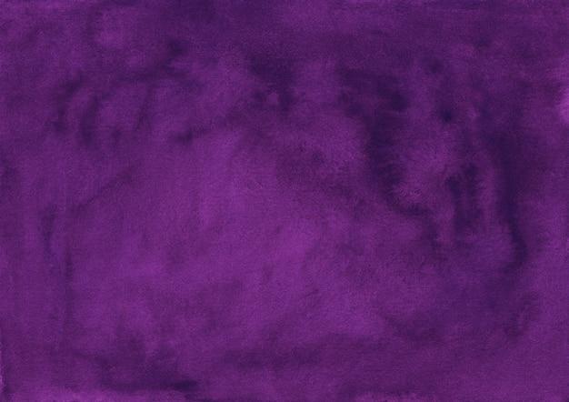 Textura elegante fundo violeta profundo aquarela. cor de água abstrato roxo escuro