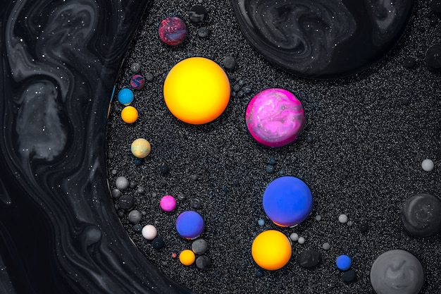 Textura fluida de arte. pano de fundo com efeito de tinta redemoinho abstrato. quadro em acrílico líquido com tintas mistas e sem bolhas.
