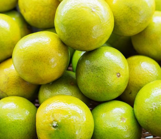 Textura fresca de tangerinas