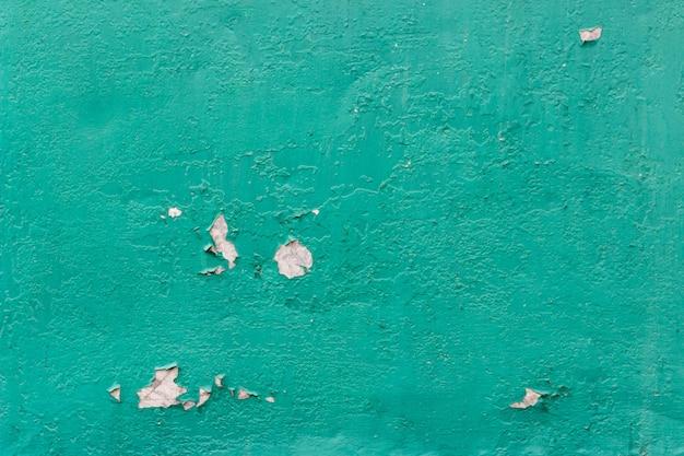 Textura, fundo, de, metal enferrujado, com, um, antigas, descascamento, pintura