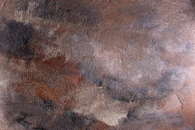 Textura. fundo. mesa de pedra com tons de marrom preto e cinza