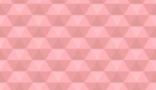 Textura geométrica rosa. elementos hexagonais.