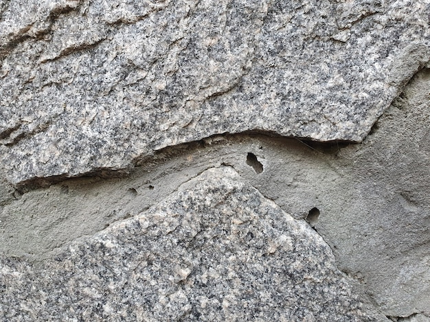 Textura horizontal de pedra natural cinza