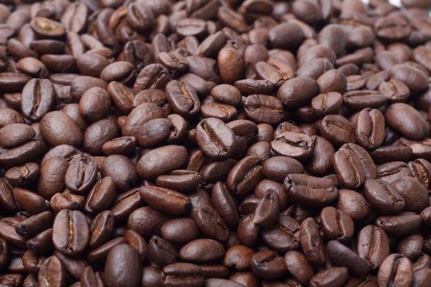 Textura isolada de grão de café