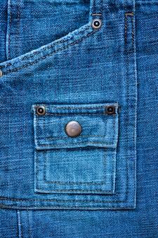 Textura jeans com rebites para o fundo