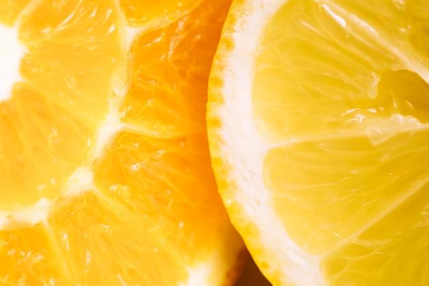 Textura laranja macro