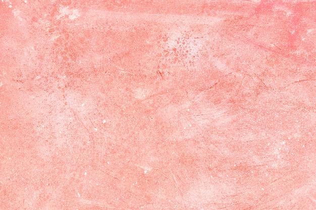 Textura leve com cor coral e tinta branca, superfície chique