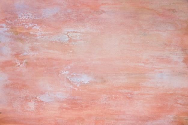 Textura leve com coral cracled e tinta branca, superfície chique gasto