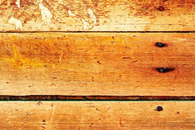 Textura, madeira, parede, pode ser usado como pano de fundo. textura de madeira com arranhões e rachaduras Foto Premium