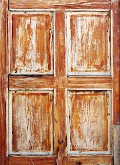 Textura marrom da porta velha