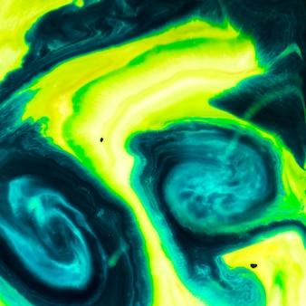 Textura oleosa em tons de gradiente verdes