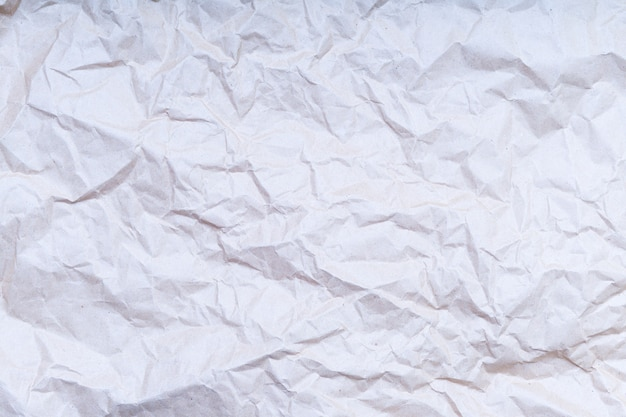 Textura ou fundo de papel enrugado